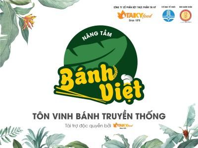 Cuộc thi Nâng tầm Bánh Việt - Công bố giám khảo