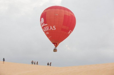 Du lịch khinh khí cầu ngay tại Phan Thiết